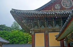 Koreanischer Tempel Lizenzfreies Stockfoto