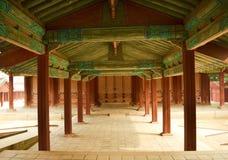 Koreanisches altes Gebäude lizenzfreies stockfoto