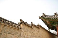 Koreanisches altes Gebäude lizenzfreie stockfotografie