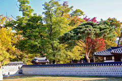 Koreanisches Dorf Lizenzfreie Stockfotos