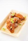 Koreanisches gebratenes Huhn Lizenzfreie Stockfotos