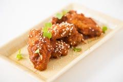 Koreanisches gebratenes Huhn Lizenzfreie Stockfotografie
