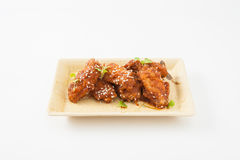 Koreanisches gebratenes Huhn Stockbild