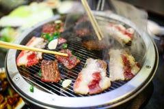 Koreanisches Grillrindfleisch Lizenzfreies Stockfoto