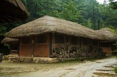 Koreanisches Haus Stockfotos
