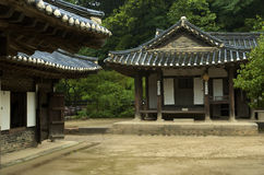 Koreanisches Haus Stockfotografie