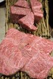 Koreanisches Lebensmittel briet Fleisch, BBQ-Grill in Korea-Art Lizenzfreie Stockfotografie
