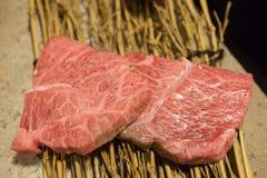 Koreanisches Lebensmittel briet Fleisch, BBQ-Grill in Korea-Art Lizenzfreies Stockbild