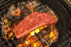 Koreanisches Lebensmittel briet Fleisch, BBQ-Grill in Korea-Art Stockbilder