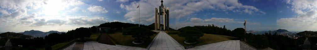 Koreanisches Monument Stockbild