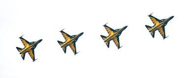 Koreanisches schwarzes Eagles im Singapur Airshow 2014 Stockbild