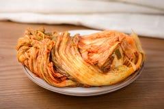 Koreanisches traditionelles Lebensmittel Gimchi lizenzfreie stockfotos