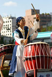 Koreanisches Trommel-Festival Stockfotografie