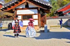 Koreansk byfestival Fotografering för Bildbyråer