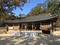 Koreansk Gazebo royaltyfria foton