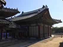 Koreansk Gazebo Royaltyfri Fotografi