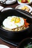 Koreansk kokkonst Arkivbild