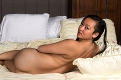 Koreansk kvinna Arkivbilder