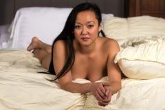 Koreansk kvinna Fotografering för Bildbyråer
