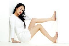 koreansk kvinna Arkivfoton