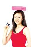 koreansk kvinna Arkivbild