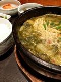 Koreansk mat Arkivfoto