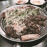 Koreansk mat Royaltyfri Foto