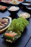 Koreansk matset Fotografering för Bildbyråer