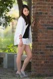 Koreansk modell Royaltyfria Foton