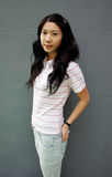koreansk modell Arkivfoto