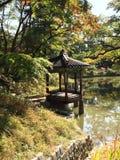 koreansk monument royaltyfri fotografi