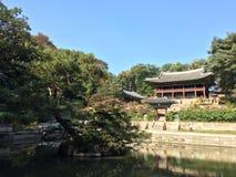 koreansk monument arkivfoton
