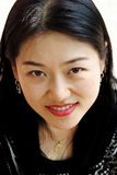 koreansk nätt kvinna Fotografering för Bildbyråer