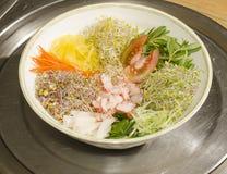 Koreansk nationell mat. Arkivbild