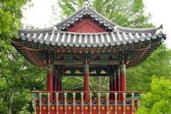 koreansk pagoda Royaltyfria Bilder