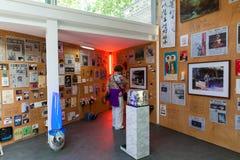 Koreansk paviljong av den 57th Venedig Biennale Arkivfoton