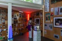 Koreansk paviljong av den 57th Venedig Biennale Fotografering för Bildbyråer