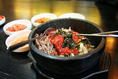 koreansk rice Arkivbild