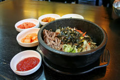 koreansk rice Royaltyfria Bilder
