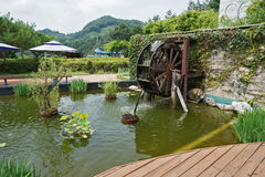 Koreansk sikt Fotografering för Bildbyråer