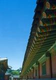 koreansk slott arkivfoto