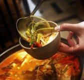 koreansk soup Royaltyfri Fotografi