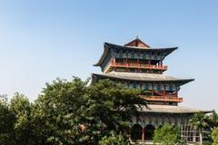 Koreansk tempel, Lumbini, Nepal royaltyfria foton