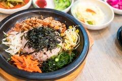 koreansk traditionell mat (Bibimbap) Royaltyfri Foto