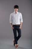 Koreansk ung man Arkivbild