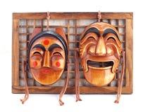 Koreanska maskeringar. Fotografering för Bildbyråer
