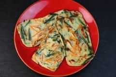 koreanska pannkakor Royaltyfri Bild