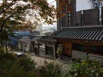 Koreanskt medborgarehem Arkivbild