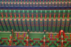 koreanskt tak Royaltyfri Bild
