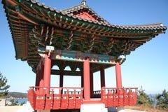 koreanskt vila för pavillion Arkivfoto